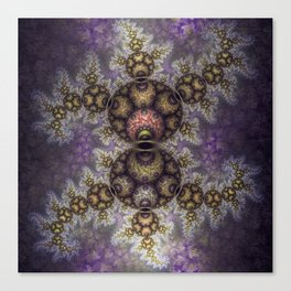 Magic in the air, fractal pattern abstract Canvas Print