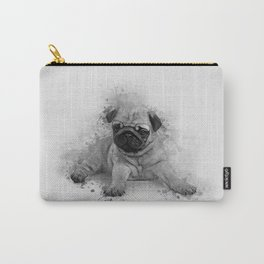 Pug Art Carry-All Pouch
