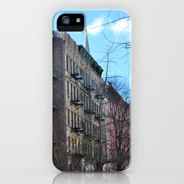 East Village Apartments iPhone Case