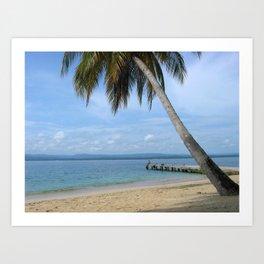 Isle of San Blas PANAMA - the Caribbeans Art Print