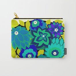 CAMBRIA, ART DECO FLORALS: SEASIDE CHIC Carry-All Pouch