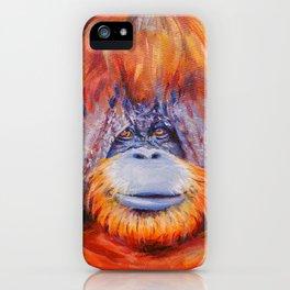 Chantek the Great iPhone Case