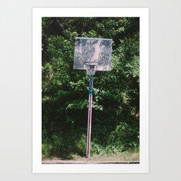 The Hoop Art Print