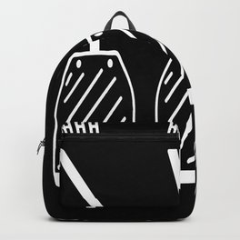 Driving School Driving Instructor Motif Backpack