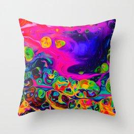 Hawking Radiation Throw Pillow