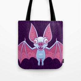 Albino Vampire Bat Tote Bag