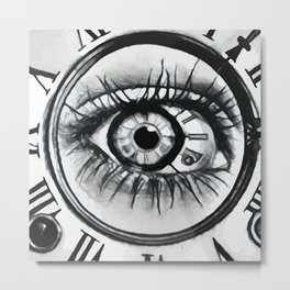 Visual Time Metal Print