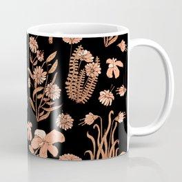 Dry Flowers at Night Coffee Mug