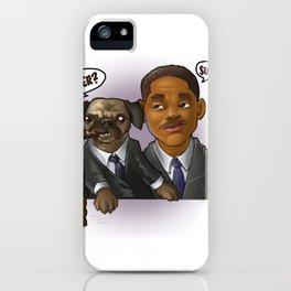 MEN IN BLACK iPhone Case