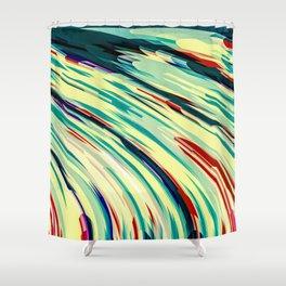 Retro Rush Shower Curtain