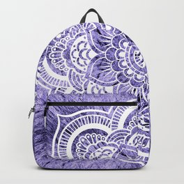 Mandala Lavender Colorburst Backpack