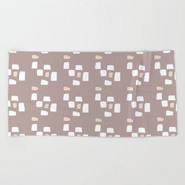 Modern Adobe Beach Towel