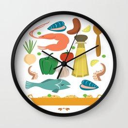 Paella Wall Clock