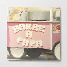 Barbe a Papa Metal Print