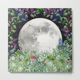 Moon Magick Metal Print
