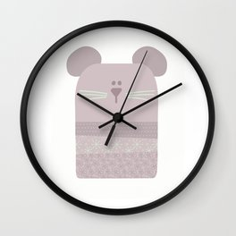 Baby Mouse Wall Clock