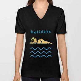 Holidays! Unisex V-Neck