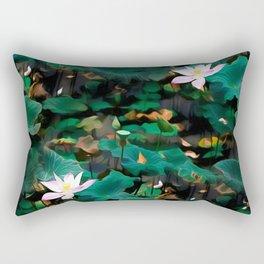 Lotus - A Pattern Rectangular Pillow