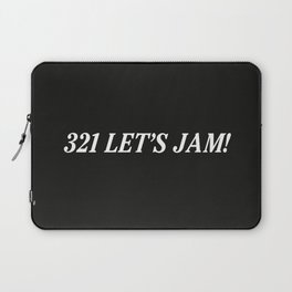 321 Let's Jam! Laptop Sleeve