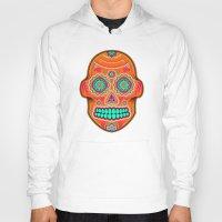 sugar skull Hoodies featuring Sugar Skull by Good Sense