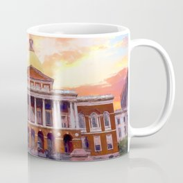 Massachusetts State House #painting #painterly #architecture Coffee Mug