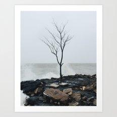 City Tree Part One: Winter Art Print