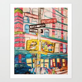 """this ones called i'd rather be on broadway than be a prince."" Art Print"