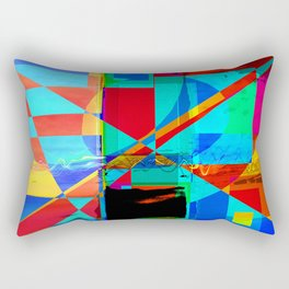 Electric Poem Rectangular Pillow