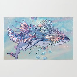 Journeying Spirit (Shark) Rug
