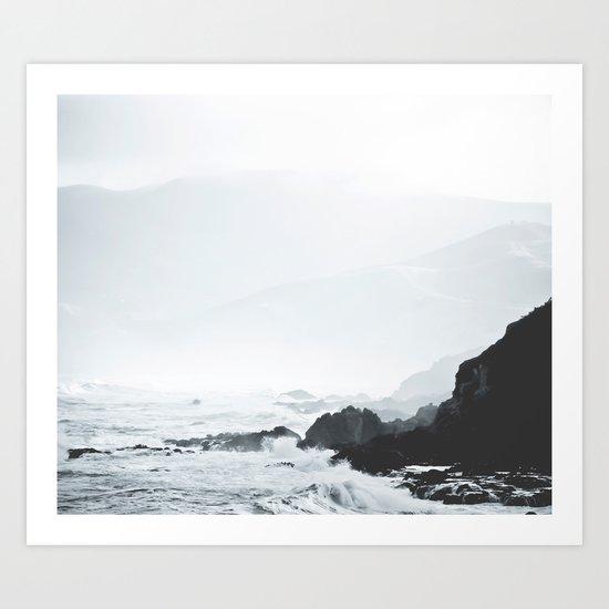 Sea Waves Seascape, Ocean Waves Photography, Sea Coast, Sea Beach Tapestry, Pillow etc Art Print
