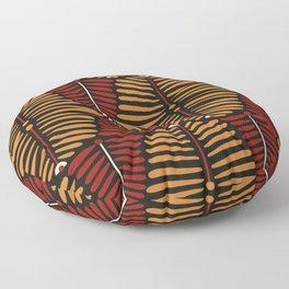 African Styles Pattern 6 Floor Pillow