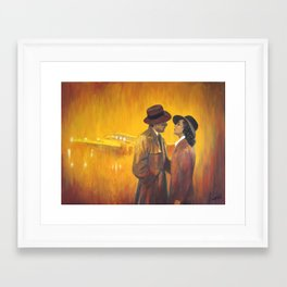 Casablanca film poster - The End Framed Art Print