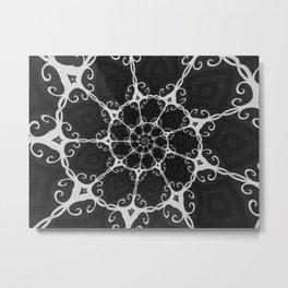 Dark Mandala #3 Metal Print