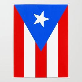 Puerto Rico Flag - Boricua Pride Poster