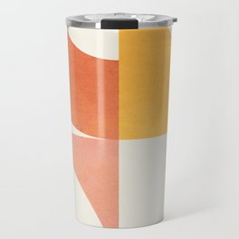 Attached Abstraction 02 Travel Mug