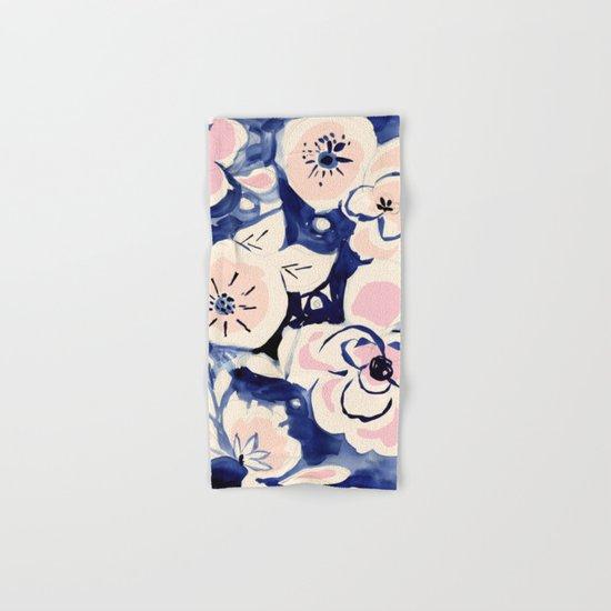 Midnight Moonflower Hand & Bath Towel