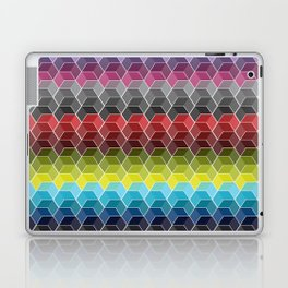 Hexagon Shades / Pattern #6 Laptop & iPad Skin