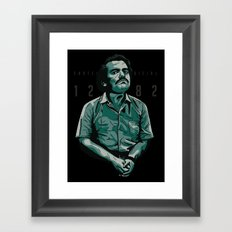 Pablo The Narco Framed Art Print