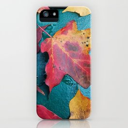 WithrowLeaves iPhone Case