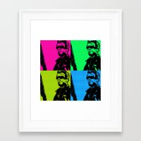 terminator Framed Art Prints featuring Terminator by Bolin Cradley Art