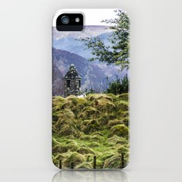 Travel to Ireland: Sheep Hill iPhone Case