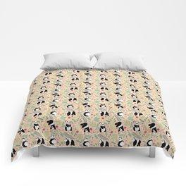 Panda pattern pink Comforters