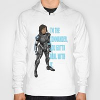 the legend of korra Hoodies featuring Commander Korra by comickergirl