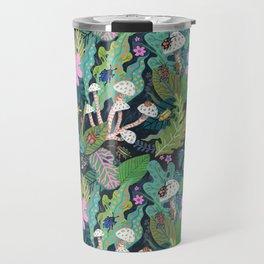 Beetle Pattern Travel Mug