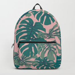 Monstera Deliciosa Backpack