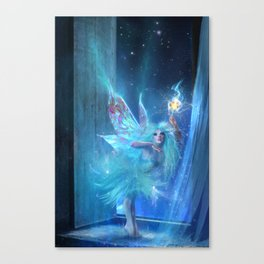 The Blue Fairy Canvas Print