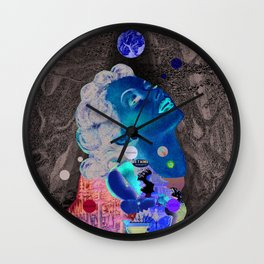 Vai Passar (Will Pass) Wall Clock