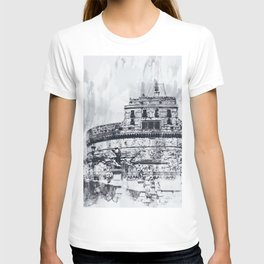 Rome, Mausoleum of Hadrian T-shirt