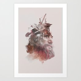 The Creator Art Print