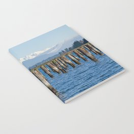 MOUNT BAKER KOMA KULSHAN AND OLD PILINGS  Notebook